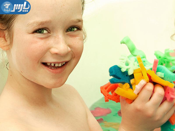 کپسول سحرآمیز اسباب بازی حمام