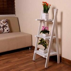 استند گلدان طرح نردبان سه طبقه |