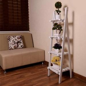 استند گلدان طرح نردبان چهار طبقه |